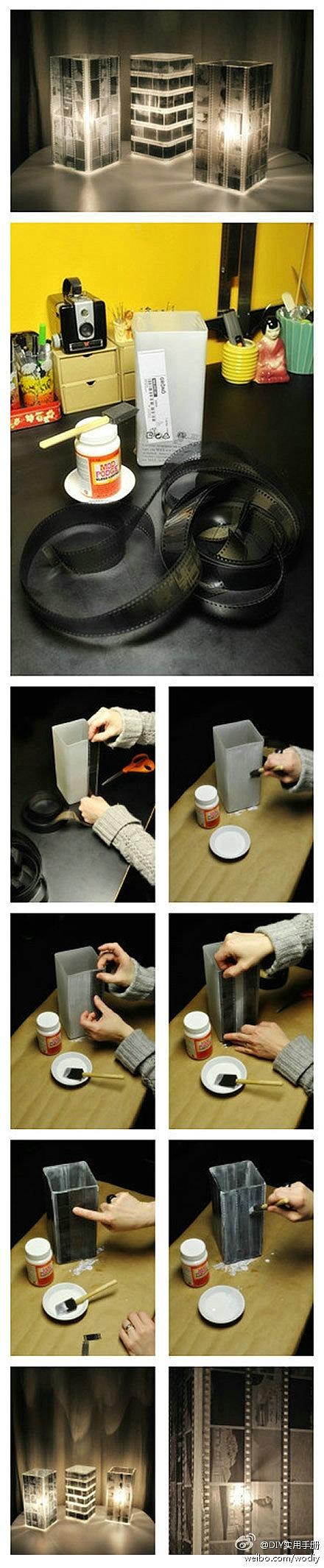 Film Strip Lamp