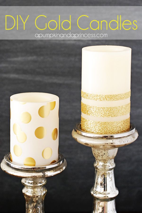 Gold Candles