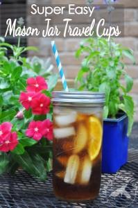 Mason Jars Cups