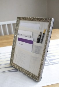 Picture Frame Organizer