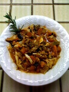Rosemary Chicken Stew