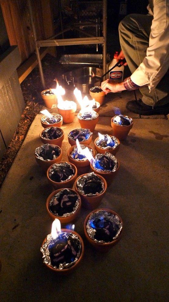 Terracota Lanterns