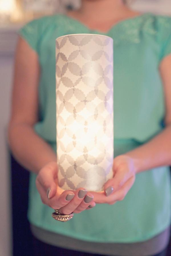 Tissue Covered Vase