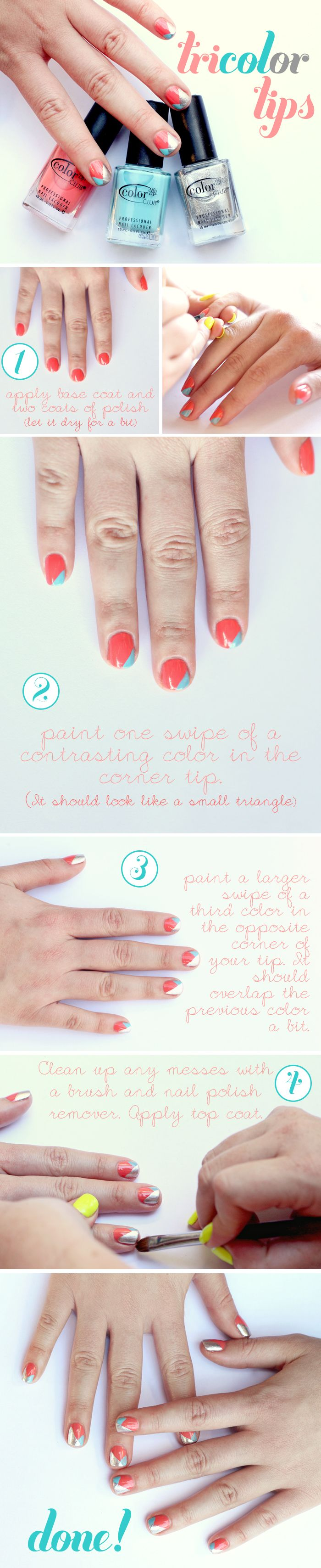 Tricolor Tips