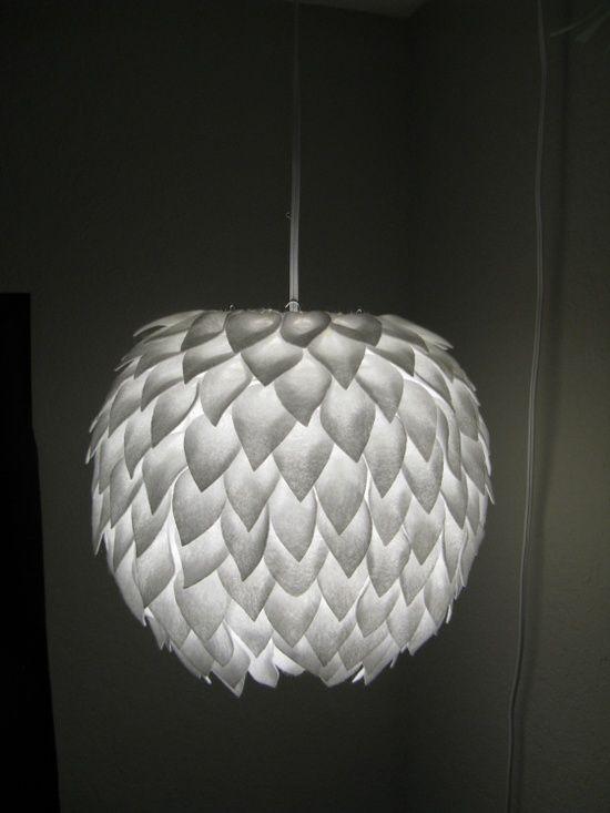 DIY Petal Lamp