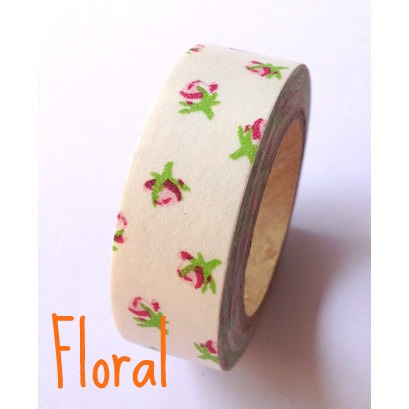Floral Washi Tape