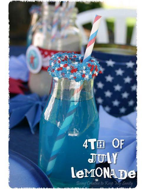 Patriotic Lemonade