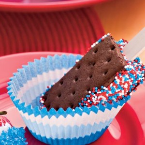 Star Spangled Sandwich Pops