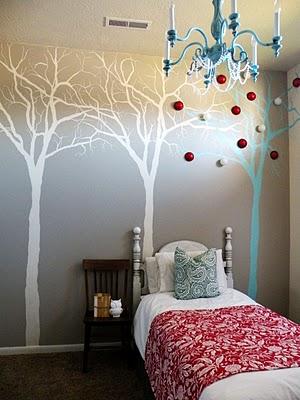 DIY Tree Mural