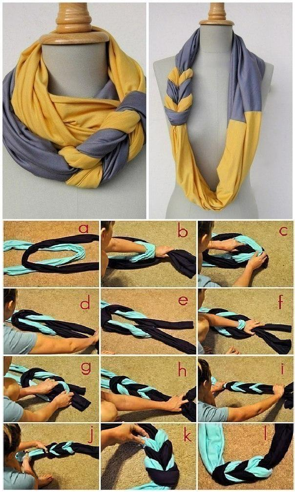 DIY Double Scarf