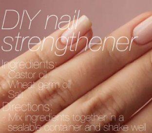 DIY Nail Strengthening