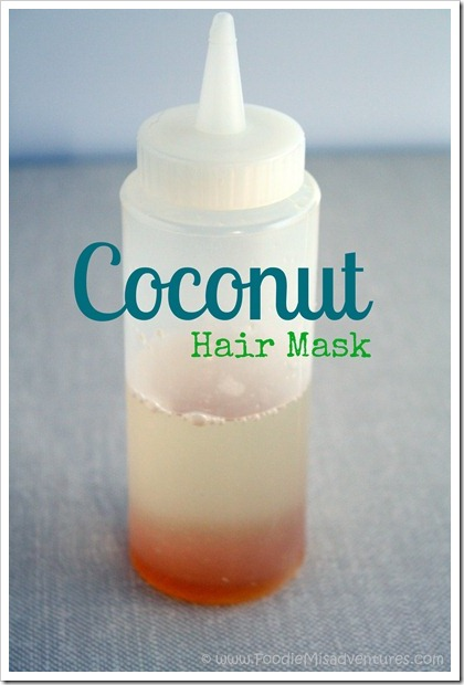 DIY Coconut Hot Oil Treatment
