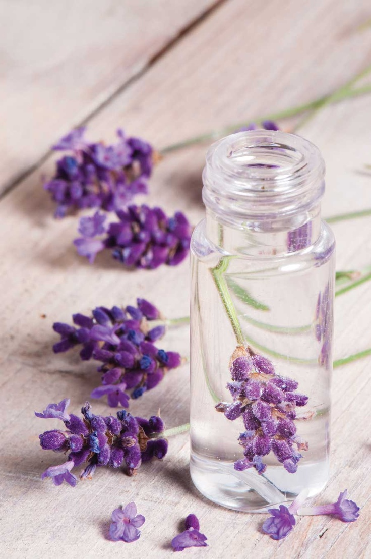 DIY Lavender Solid Perfume