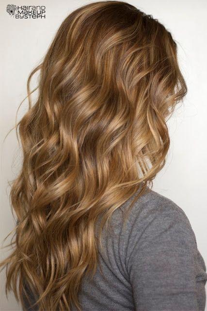 DIY Soft Flat Iron Curls