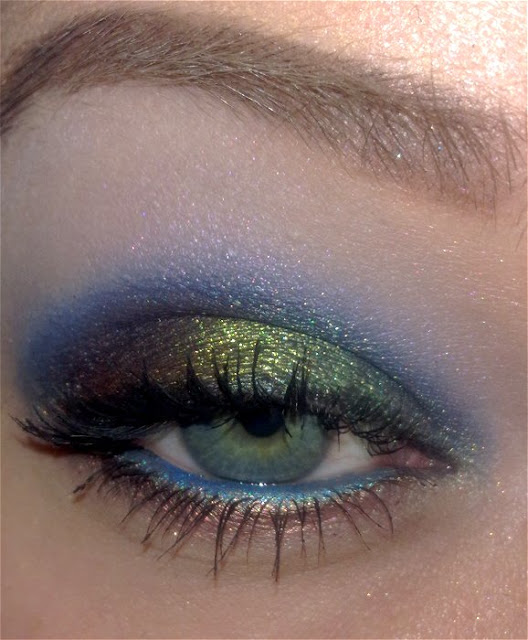 Peacock Eyes Tutorial