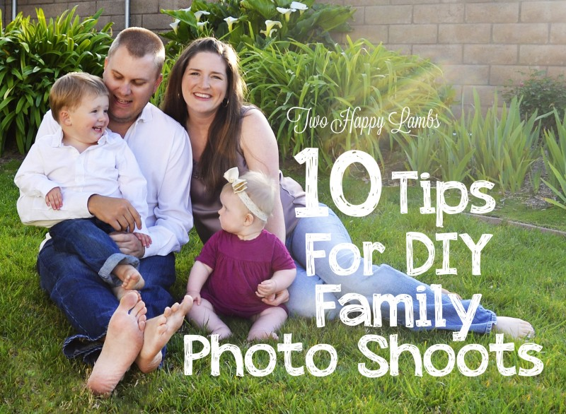 Tips for DIY Family Photos