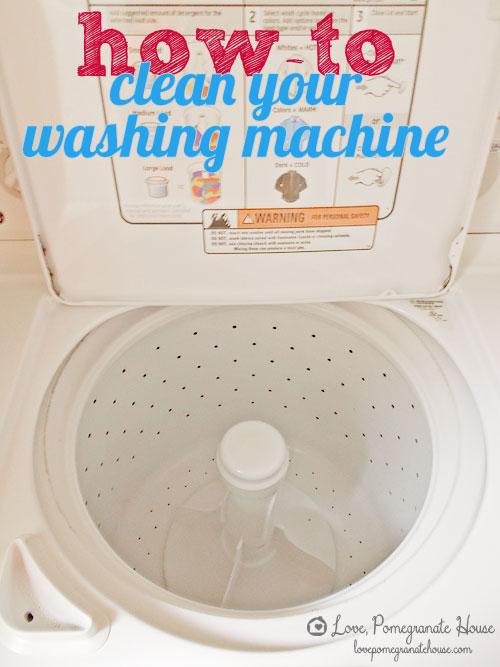 DIY Wash Machine Cleaning