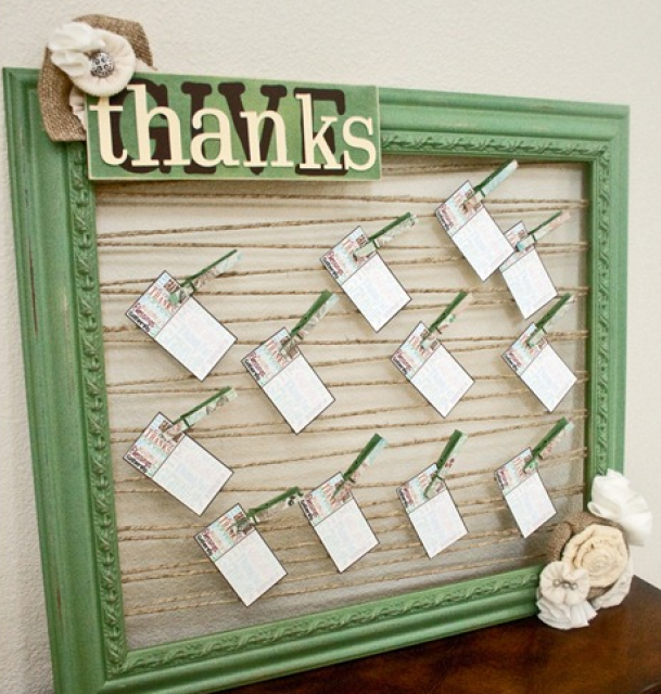 DIY Blessing Board