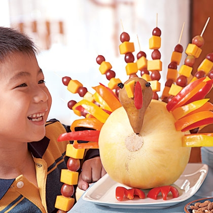 Fruit Kabob Turkey Appetizer