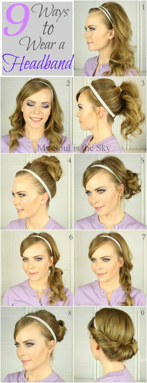 9 Ways to Wear a Headband