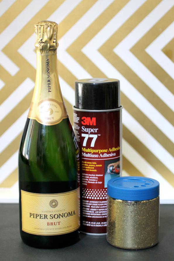 DIy-Sparkly-Bottle-Materials
