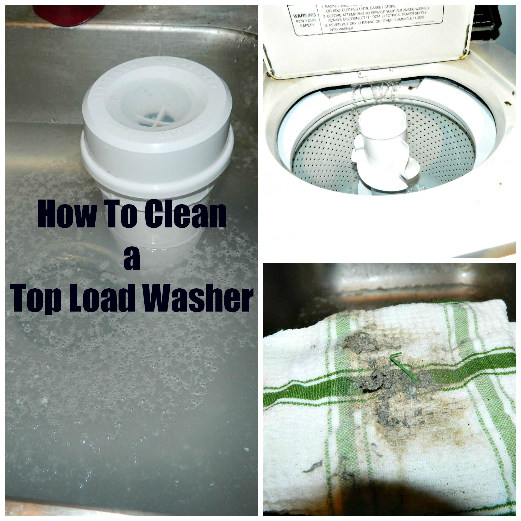 How to Clean a Top-Load Washer