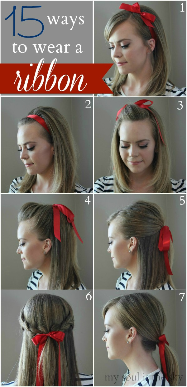 15 Ways to Wear a Hair Ribbon