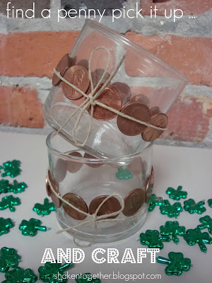 Lucky Penny Votive Holder