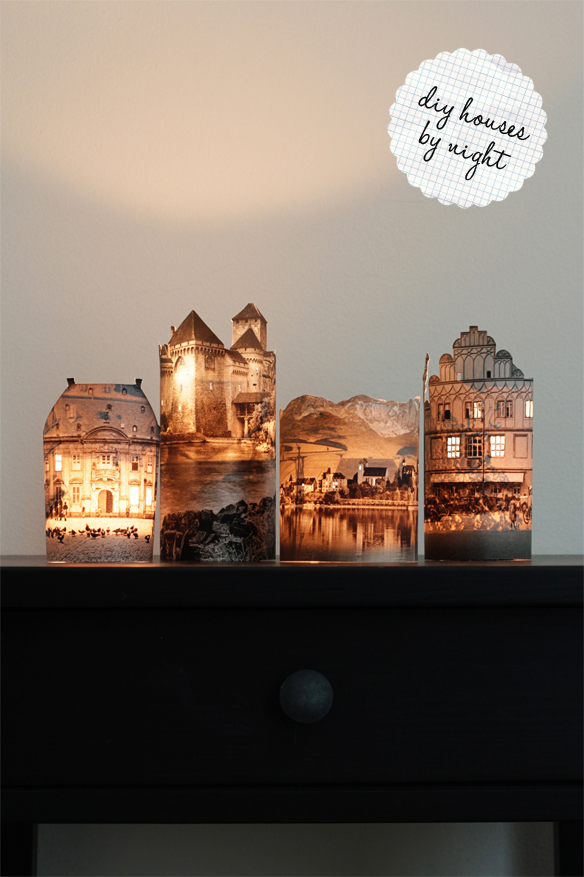 DIY Houses By Night