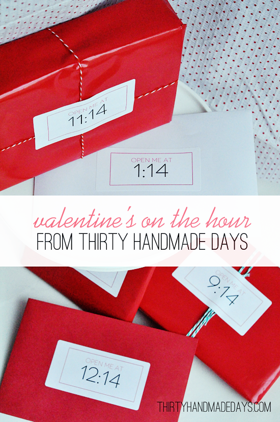 """On the Hour"" Valentine"