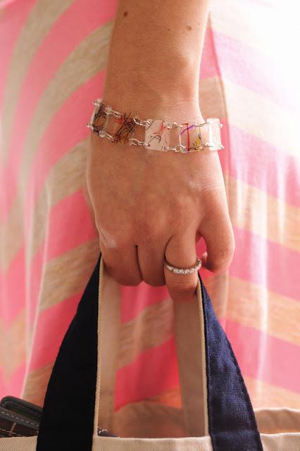DIY Shrinkey Dink Bracelet
