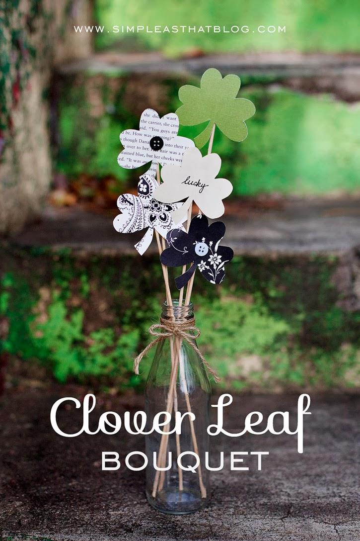 DIY Clover Leaf Boquet