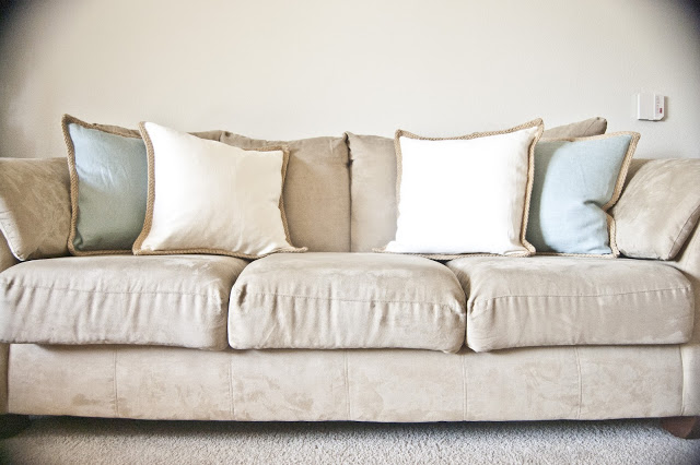 Microfiber Couch Cleaning Tutorial
