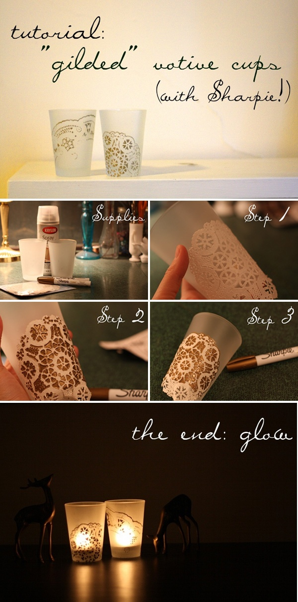 DIY Gilded Cup