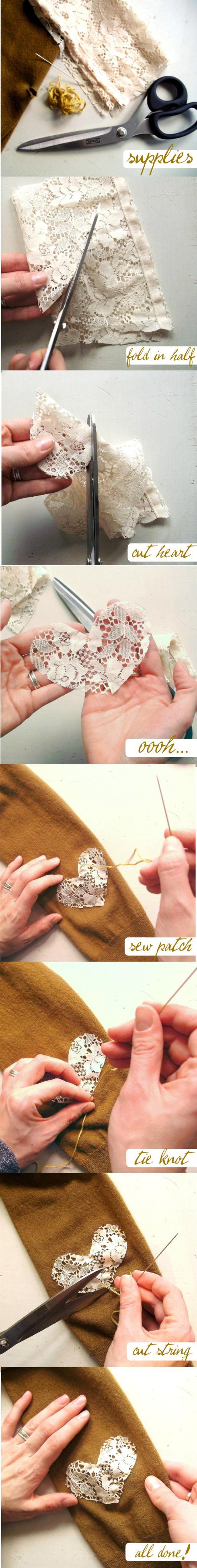 DIY Love Patch