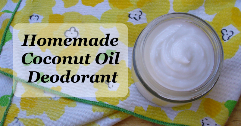 DIY Coconut Deodorant