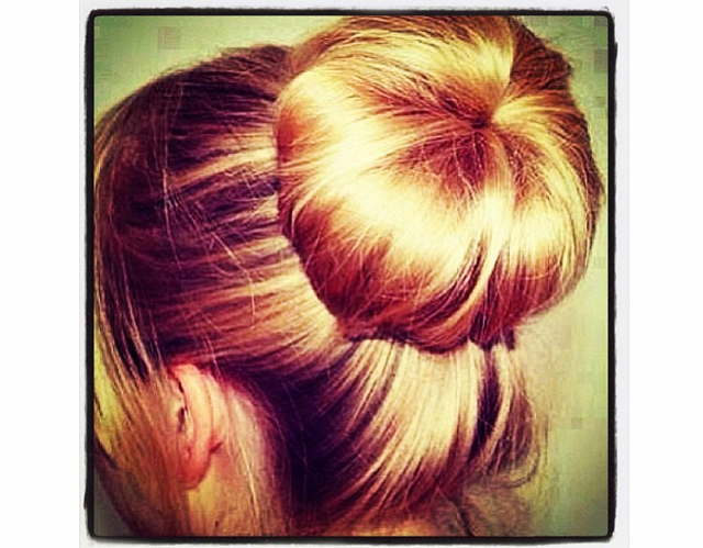 The Perfect Sock Bun