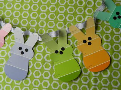 bunny garland