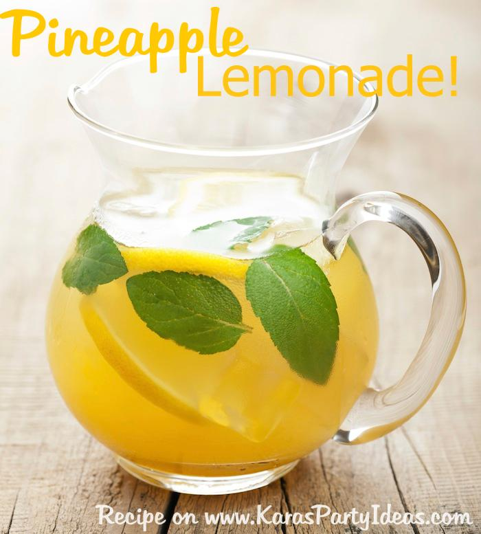 Pineapple-Lemonade-Recipe-via-Karas-Party-Ideas-KarasPartyIdeas.com-pineapplelemonaderecipe-partydrinkrecipe-partypunch-pineappledrink-lemonade