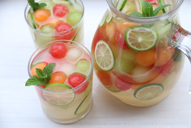 Melon-sangria